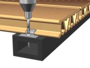 montaj parchet lemn exterior