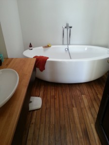 finisaj ulei baie