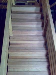 montaj deck trepte