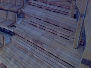 montaj deck tribuna