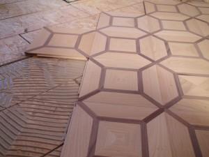 montaj intarsia lemn