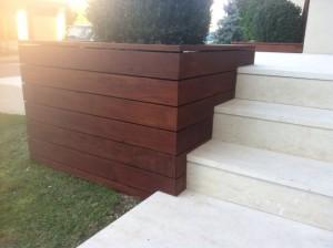 montaj jardiniere deck