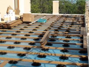 montaj substructura deck