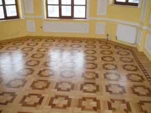 slefuire mozaic parchet lemn